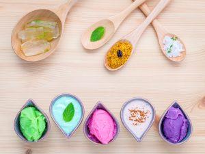 lavender aloe vera green tea